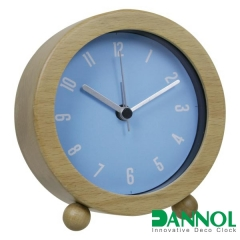 Wooden Table Alarm Clock