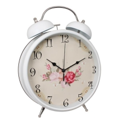 "8"" Metal Twin Bell Alarm Clock"