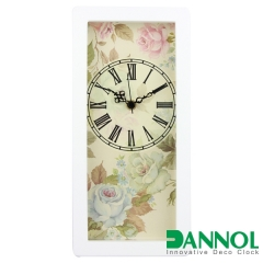 Wooden Wall Clock and Table Clock 2 in 1